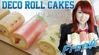 Cute Deco Roll Cake ft. Kim Dao - Kao's Kosplay Kitchen!