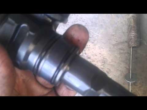 Замена резинок на форсунках VW T5