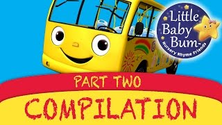 getlinkyoutube.com-Wheels On The Bus Plus Lots More Great Nursery Rhymes from LittleBabyBum!!
