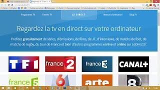 getlinkyoutube.com-Regarder la TV en direct sur internet (ordinateur, téléphone, tablette)