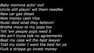 getlinkyoutube.com-Lil Durk - Real (Offical Screen Lyrics)