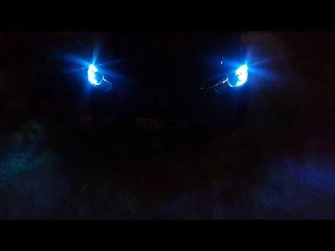 Габаритные огни. Стильный взгляд MAZDA CX-5.Фары стробоскопы. Светодиодные лампы.