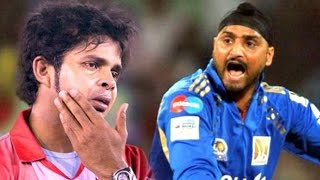 getlinkyoutube.com-Harbhajan Slapping Sreesanth Incident In IPL 8 - Fights Between Players- Spot Fixing