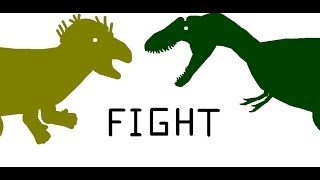 getlinkyoutube.com-EGB: Nanotyrannus vs Stygimoloch