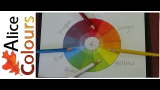 getlinkyoutube.com-Layering and mixing colored pencils for beginners #1