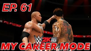 WWE 2K16 My Career Mode - THE ROCK RETURNS! (EP. 61) [WWE MyCareer PS4/XBOX ONE/NEXT GEN Part 61]