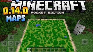 getlinkyoutube.com-MAPS in MCPE!!! - 0.14.0 Beta Build Gameplay - Minecraft PE (Pocket Edition)
