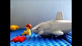 getlinkyoutube.com-Lego shark attack