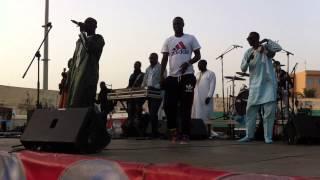getlinkyoutube.com-Stade Demba Diop - Pape Diouf et Babou Ngom assurent l'ambiance