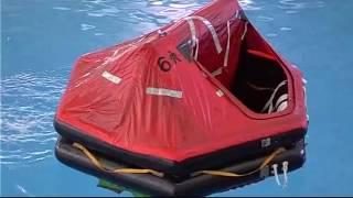 Survival at Sea Life Rafts