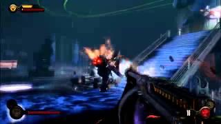 getlinkyoutube.com-Bioshock Infinite Burial at Sea Big Daddy fight