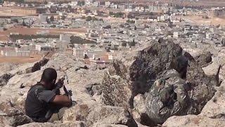getlinkyoutube.com-Islamic State Advance on Syria City of Kobani