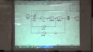 Modelling of a Spring-Mass-Damper in Simulink, 17/2/2016
