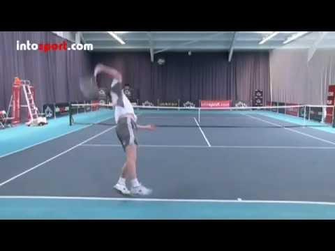 Học Giao bóng Tennis