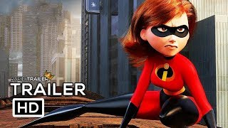 INCREDIBLES 2 Official Trailer 2018 Disney Animated Superhero Movie HD