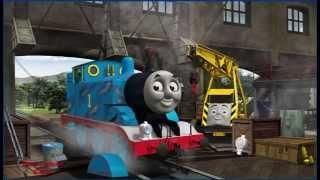 getlinkyoutube.com-Thomas And Friends Engine Repair GamePlay