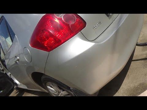 Как снять задний бампер. Toyota Auris.