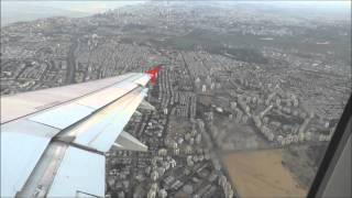 getlinkyoutube.com-Canon PowerShot SX60 HS | Full Flight Austrian Airlines Tel Aviv (TLV) to Vienna (VIE)