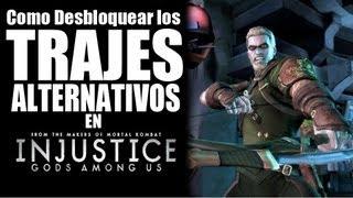 """getlinkyoutube.com-Como desbloquear los trajes """"altenativos"""" de Injustice: Gods Among Us"""