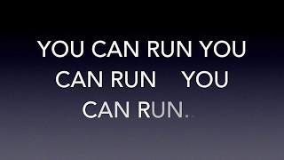 You can run - Adam Jones (with lyrics)