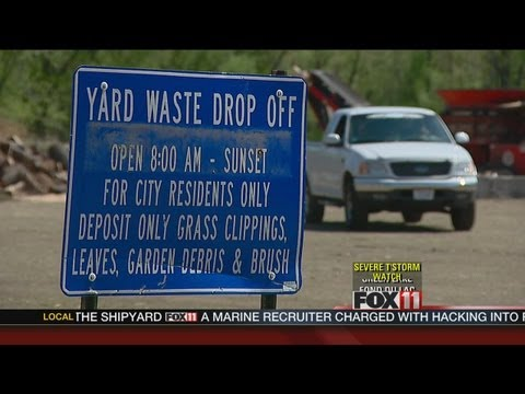 9pm Yard Waste PKG