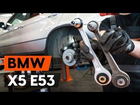 Расположение у BMW 5 сайлентблоков передних рычагов
