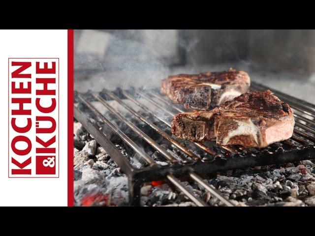 T-Bone Steak grillen vom Steirereck