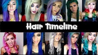 getlinkyoutube.com-HeyThereImShannon's Hair Timeline!