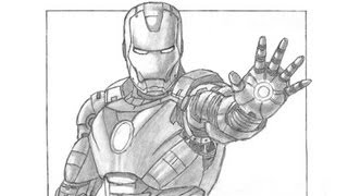 getlinkyoutube.com-Special Iron Man Drawing! Thanks for 10,000 subs :)