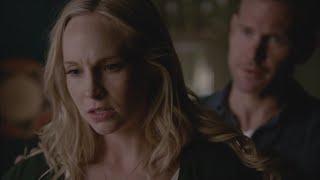 getlinkyoutube.com-The Vampire Diaries: 7x09 - Caroline attacks Alaric [HD]