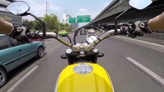 getlinkyoutube.com-Test Ride : DUCATI Scrambler ICON