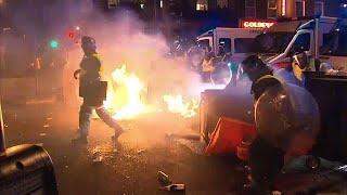 İngiltere'de halk Rashan Charles için sokaklara döküldü