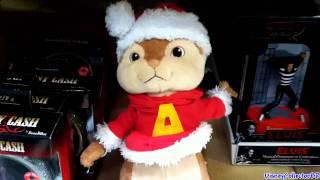 getlinkyoutube.com-Alvin the Chipmunk plush singing dancing toy Christmas 2011
