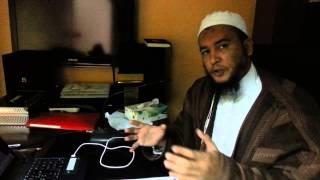 رسالة تهديد وجدتها على مكتبي من جني الى الراقي المغربي نعيم ربيع