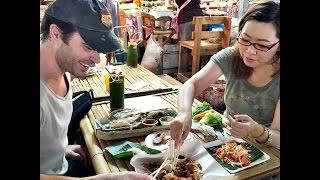 getlinkyoutube.com-เที่ยวกับว่านน้ำ - ทริปพาเพื่อนฝรั่งเที่ยวตลาดน้ำคลองลัดมะยม