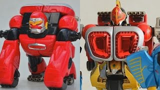 getlinkyoutube.com-[TMT][218] Review DX Gao Kong! Gao Knight! ガオナイト! Hyakujuu Sentai Gaoranger! 百獣戦隊ガオレンジャー