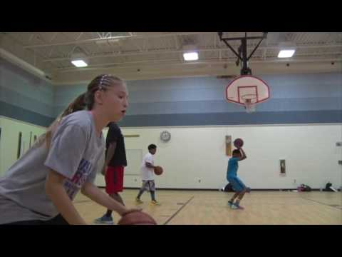 Drills and Skills Basketball Training Camp 2016 Part 1