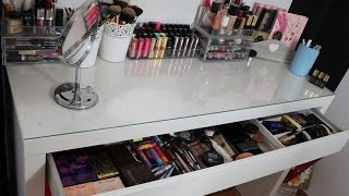 getlinkyoutube.com-Mon rangement et ma collection de maquillage ❤ - Makeup storage