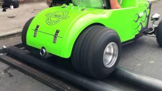 getlinkyoutube.com-32 Ford Roadster Tot Rod Pro Street Drag Race Hot Rod Testing