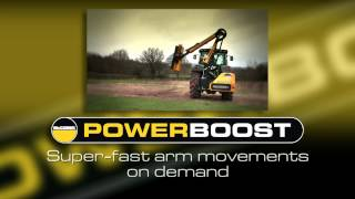 McConnel POWERBOOST - Super-fast arm movements on demand