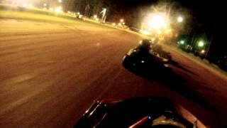 getlinkyoutube.com-Crossroads Motorplex Super 8 Money Series Clay Go Kart Racing JR Stock Points Race 7/5/14