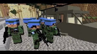 getlinkyoutube.com-Minecraft custom npc mod - battle test