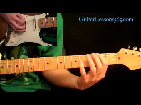 Motley Crue - Dr. Feelgood Guitar Lesson Pt.4 - Outro Section