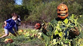 getlinkyoutube.com-Pumpkin Patch Killer Halloween Scare Prank