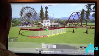 Roller Coaster Tycoon World Gameplay Demo & Interview - PAX Prime 2015