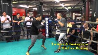 getlinkyoutube.com-Ruslan Provodnikov Gleason's Open Workout For 6.14