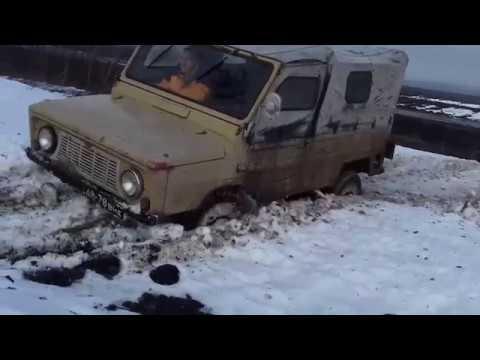 Offroad. ЗАЗ Луаз-Волынь 1975 vs Зимнее бездорожье