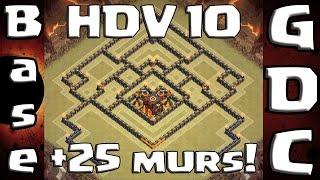 getlinkyoutube.com-Le meilleur village HDV10 GDC +25 Remparts !