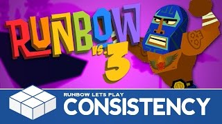getlinkyoutube.com-Runbow #3 - Consistency | 4 Player Versus Gameplay