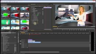getlinkyoutube.com-Premiere Pro CC Green Screen / Virtual Studio Tutorial